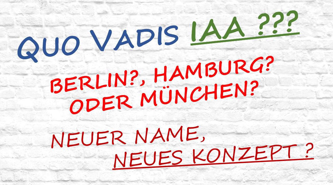 Quo Vadis IAA